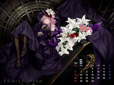 Calendar 2021.6 1600-1200