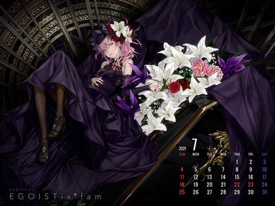 Calendar 2021.7 1600-1200